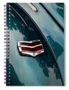 Ford Taillight Spiral Notebook