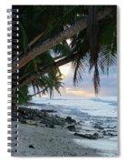 Forest Beach Spiral Notebook
