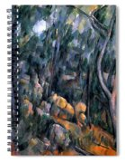 Forest In The Caves Above The Chateau Noir Spiral Notebook