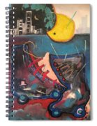 Forgotten Days Spiral Notebook