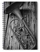 Forgotten Tuba Spiral Notebook