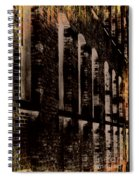 Forlorn Abstraction Spiral Notebook
