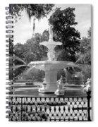 Forsyth Fountain Park Spiral Notebook