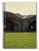 Fort Pickens Arches Spiral Notebook