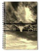 Fort Worth Stockyards District Archway Spiral Notebook