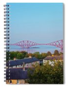 Forth Bridge, Scotland Spiral Notebook