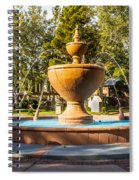 Fountain At Tlaquepaque Spiral Notebook