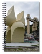 Fountain Of The Market Ramp By Mario Cravo Spiral Notebook