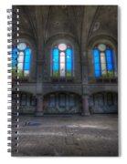 Four Windows Spiral Notebook