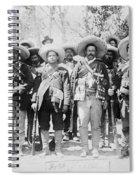 Francisco Pancho Villa Spiral Notebook
