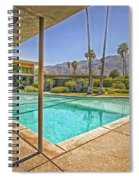Frank Sinatra's Twin Palms Estate Spiral Notebook
