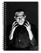 Frankensteins Monster Boris Karloff Spiral Notebook