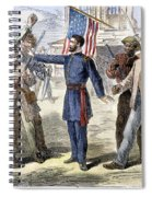 Freedmens Bureau, 1868 Spiral Notebook