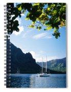 French Polynesia, Moorea Spiral Notebook