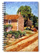 Fresh Cut Hay Provence Spiral Notebook