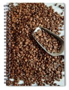 Fresh Roasted Coffe Beans Spiral Notebook
