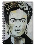Frida Kahlo Press Spiral Notebook