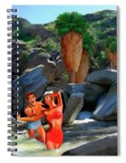 Frolicking In The Canyons Spiral Notebook