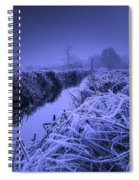 Frosty Field Spiral Notebook