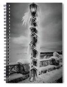 Frozen Over Niagara Falls Spiral Notebook