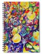 Fruit Full Vibrations Spiral Notebook