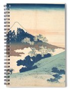 Fuji From Inume Pass Spiral Notebook