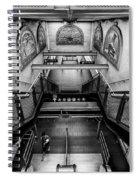 Fulton Street Subway Spiral Notebook