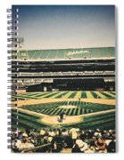 Game Day In Oakland Spiral Notebook