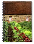 Garden Farm Spiral Notebook