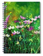 Garden Flowers Spiral Notebook