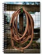 Garden Hose Spiral Notebook
