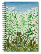 Garden In Blossom Spiral Notebook