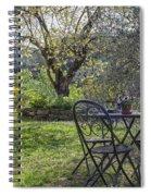 Garden In Spring Spiral Notebook