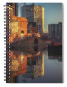 Gas Street Basin Sunrise No3 Spiral Notebook