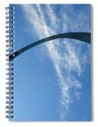 Gateway Arch 4 Spiral Notebook