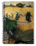 Gauguin: Breton Women Spiral Notebook