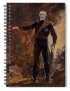 General Gebhard Leberecht Von Blucher Spiral Notebook