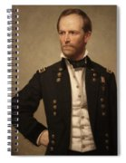 General William Tecumseh Sherman Spiral Notebook