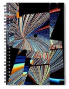Geometric Abstract 1 Spiral Notebook