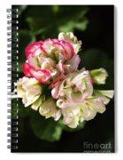 Geranium Flowers Spiral Notebook