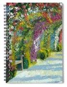 Germany Baden-baden Rosengarten Spiral Notebook
