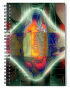 Ghost In The Machine Spiral Notebook