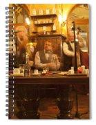 Ghost Musicians Spiral Notebook