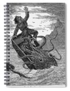 Giant Squid, 1879 Spiral Notebook