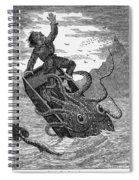 Giant Squid, 1879 Spiral Notebook