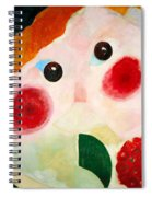Girl With Ranunculus Spiral Notebook