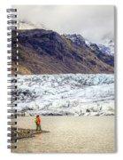 Glacier Lagoon Spiral Notebook