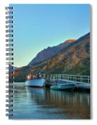 Glacier Two Medicine Sunrise  Spiral Notebook