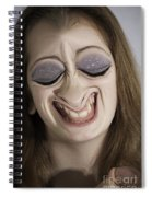Glamour Girl Spiral Notebook