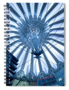 Glass Sky Spiral Notebook